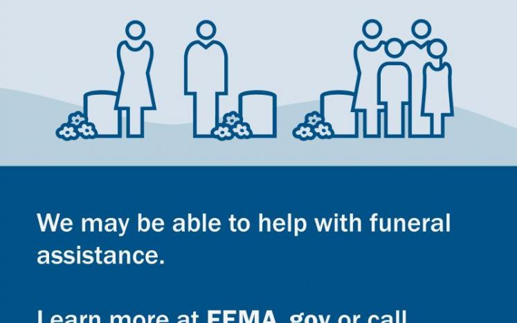 Important information from FEMA regarding Funeral Assistance