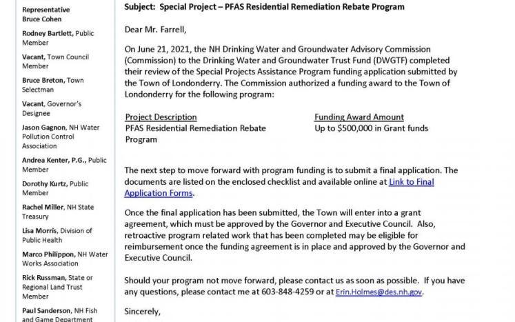 PFAS Rebate Program Coming—More Details to Follow